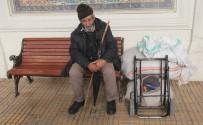 MEHMET ÇELIK - Yaşlı Adam 6 Aydır Bankta Yatıp Kalkıyor