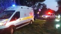 Ambulansı İtfaiye Kurtardı
