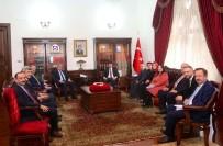 ANKARA VALİSİ - Ertürk'ten, Vali Şahin'e Ziyaret