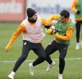 FLORYA - Galatasaray'da Rodrigues Ve Sinan Gümüş Takımla Çalışmalara Başladı