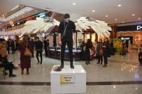 Kırıkkale'de 'Canlı Heykel' Gösterisi İzleyicileri Şaşırttı