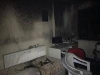 ŞAIR EŞREF - Kırkağaç'ta Korkutan Yangın