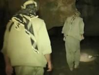 Tunceli'de mağarada sıkıştırılan teröristler etkisiz hale getirildi