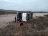 Yozgat'ta Yolcu Otobüsü Devrildi Açıklaması 1 Ölü, 15 Yaralı