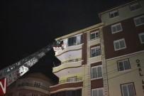 AKSARAY BELEDİYESİ - Aksaray'da 6 Katlı Apartmanda Yangın Paniği
