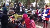 KÜÇÜKKUYU - Çanakkale'de 34 Düzensiz Göçmen Yakalandı