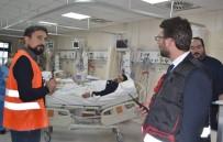 Devlet Hastanesi'nde Nefes Kesen Yangın Tatbikatı