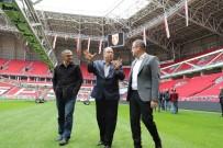 SAMSUNSPOR - Dursun Türk, 19 Mayıs Stadyumunu İnceledi