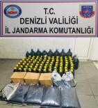 KAÇAK ŞARAP - Jandarma Bin 120 Litre Kaçak Şarap Ele Geçirdi