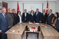ALI TÜRKER - MHP Tek Kadın Belediye Başkan Adayını Tanıttı