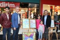 EBRU SANATı - Safvan Çocuk Evlerindeki Öğrenciler Karma Resim Sergisi Açtı