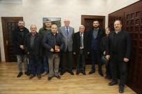 KAZıM KURT - Üç Saraylılar'dan Başkan Kazım Kurt'a Ziyaret