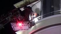 BÖLCEK - Yangında Mahsur Kalanları İtfaiye Ekipleri Kurtardı