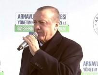 AÇILIŞ TÖRENİ - Cumhurbaşkanı Erdoğan'dan Netanyahu'ya tepki