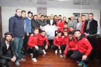 73 Şırnak Belediyespor'dan Başkan Bedirhanoğlu'na Ziyaret