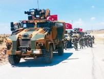 8 bin asker Münbiç sınırında