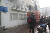 Bankadaki Yangın Paniğe Yol Açtı