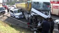 TRAFİK POLİSİ - (Düzeltme) TEM Otoyolu'nda Kazada Ağır Yaralanan Polis Memuru Şehit Oldu