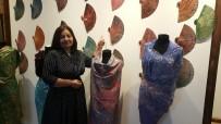 EBRU SANATı - Ebru Sanatı Kıyafet Ve Aksesuarlara Yansıdı