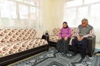 SEVINDIK - Evi Yanan Çifte Büyükşehir'den Yardım