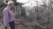 ŞEBEKE HATTI - Heyelan Korkusuyla Yaşayan Köylüler Yardım Bekliyor