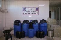 KAÇAK ŞARAP - Jandarma Bin 100 Litre Kaçak Şarap Ele Geçirdi