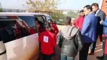 DİŞ FIRÇASI - Türk Kızılayından Çocuklara Ayakkabı Ve Mont Yardımı