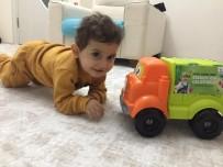 ESENLER BELEDİYESİ - 2 Yaşındaki Ali Aras'ın Çöp Kamyonu Hayali Gerçek Oldu