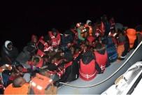 BURKINA FASO - Arızalanan Lastik Botla Akıntıya Kapılan 62 Düzensiz Göçmen Kurtarıldı
