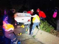 Ayvalık'ta Trafik Kazası; 1 Yaralı