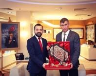 Baro Başkanı Aktürk, Feyzioğlu'nu Ziyaret Etti