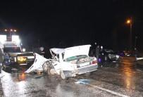 İSMAIL ÜNAL - Beyşehir'de Cip İle Otomobil Çarpıştı Açıklaması 1 Ölü, 2 Yaralı