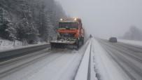 YAKIN TAKİP - Bolu Dağında Kar Etkisini Gösteriyor