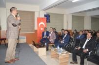 Eğitimci Yazar Tanışır, Eleşkirt'te Aday Öğretmenlere Öğretmenliği Anlattı
