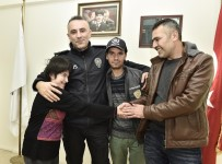AHMET YESEVI - Engelli Genç Bir Günlüğüne Polis Oldu