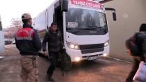 Erzincan'da 40 Düzensiz Göçmen Yakalandı