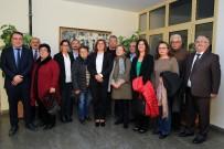 AKBÜK - Hacı Bektaş Veli Anadolu Kültür Vakfı'ndan Başkan Çerçioğlu'na Ziyaret