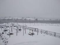 Kar Kalınlığı 30 Santimetre Açıklaması Okullar Tatil Edildi