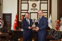 Rektör Akın Levent'ten Erzurum'da Üniversite Rektörlerine Ziyaret