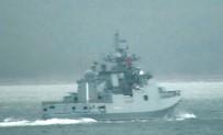 SAVAŞ GEMİSİ - Rus Savaş Gemisi Boğazdan Geçti