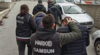 UNKAPANı - Samsun'da 14 Bin Adet Uyuşturucu Hapla Yakalanan 2 Kişi Tutuklandı