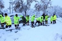 AKSARAY BELEDİYESİ - Aksaray Belediyesinde Tüm Ekiplerin Kar Seferberliği