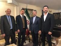 BAŞKONSOLOSLUK - Almaz, İran Başkonsolosu Soltanzadeh'i Ziyaret Etti