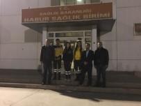 Anmal, Habur'da Sağlık Çalışanlarını Ziyaret Etti
