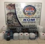 GIDA BOYASI - Antalya'da Kaçak Ve Sahte İçki Operasyonu Açıklaması 2 Gözaltı