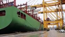 MARMARA DENIZI - Asyaport'a İlk COSCO Gemisi Geldi