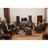 İLİM YAYMA CEMİYETİ - ETÜ Rektörü Çakmak'a Tebrik Ziyaretleri Devam Ediyor