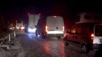 ABDULLAH AVCı - Fethiye - Antalya Karayolu Sel Sebebiyle Ulaşıma Kapandı, Kilometrelerce Araç Kuyruğu Oluştu