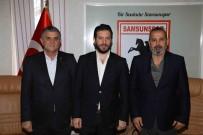 SAMSUNSPOR - Genel Menajer Mustafa Aztopal Samsunspor'da