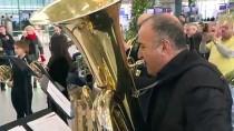 GÖKKAYA - Havaalanında Senfonik Yeni Yıl Konseri